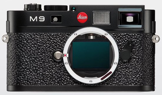 Leica M9 front view.