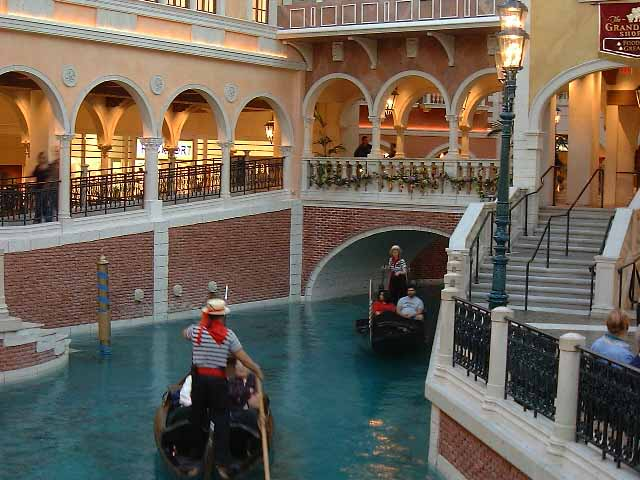 Venetian Canal and Shops